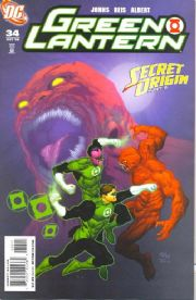 Green Lantern #34 Secret Origin (2008) DC comic book